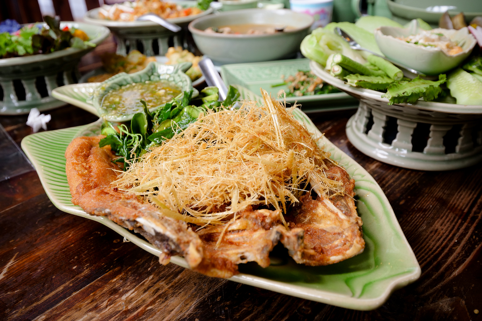 Deep Fried Fish in Thailand
