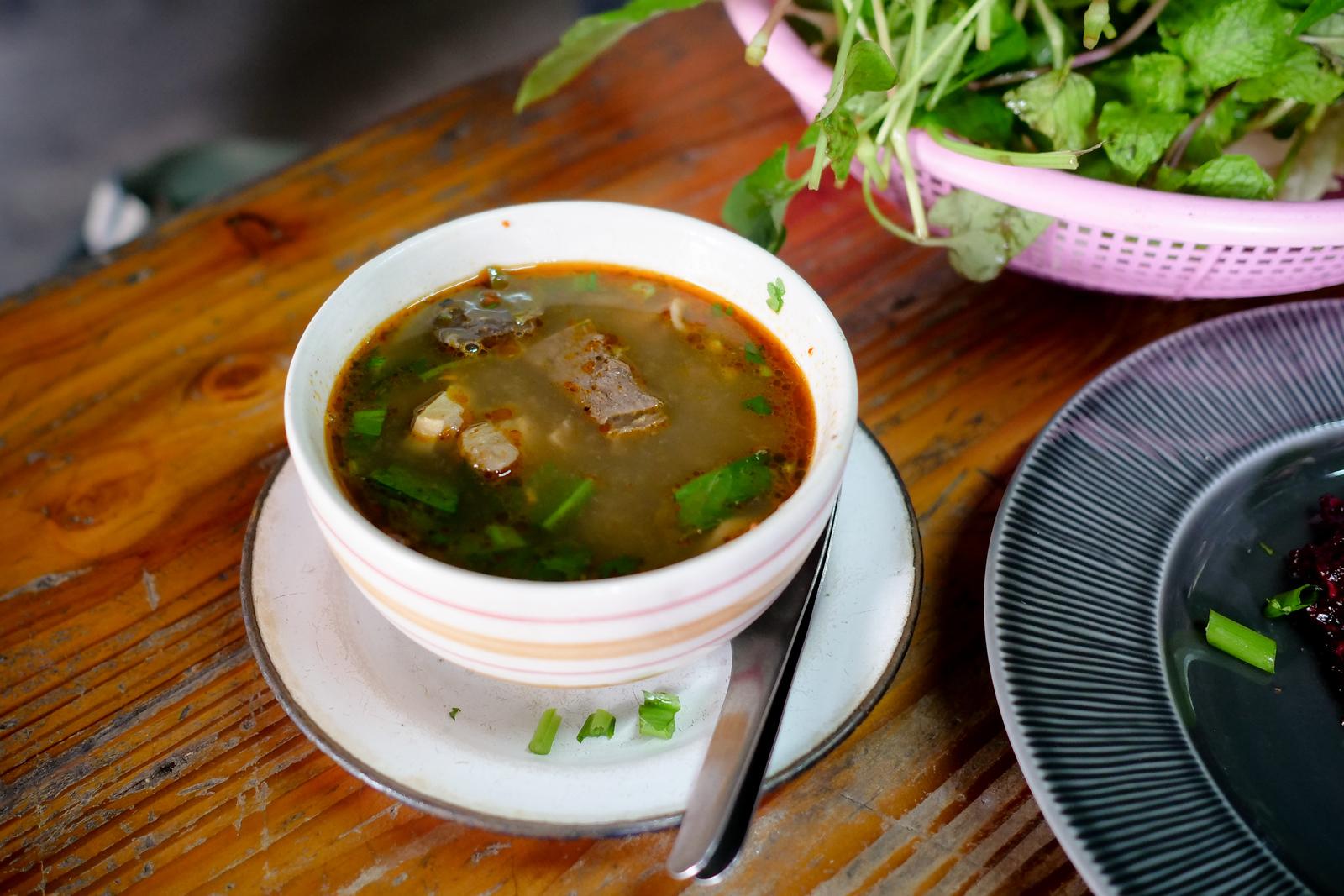 Kaeng Om Beef Intestine Soup