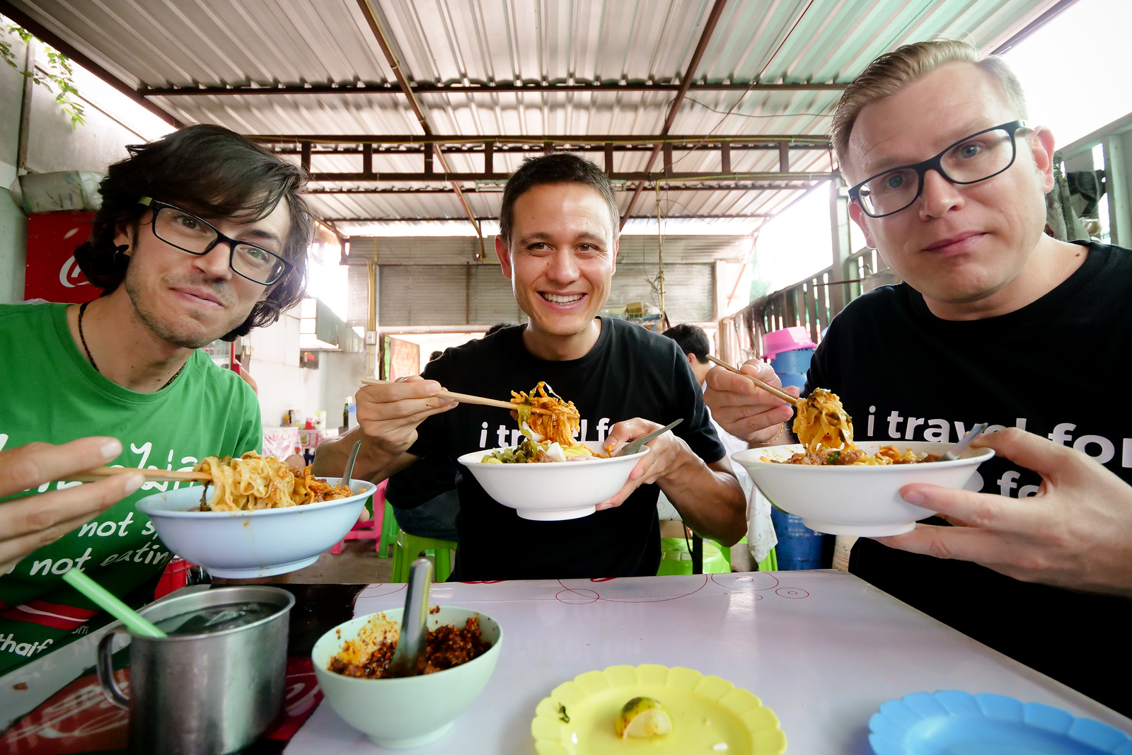 A great day hunting down Chiang Mai's best bowl of Khao Soi Noodles