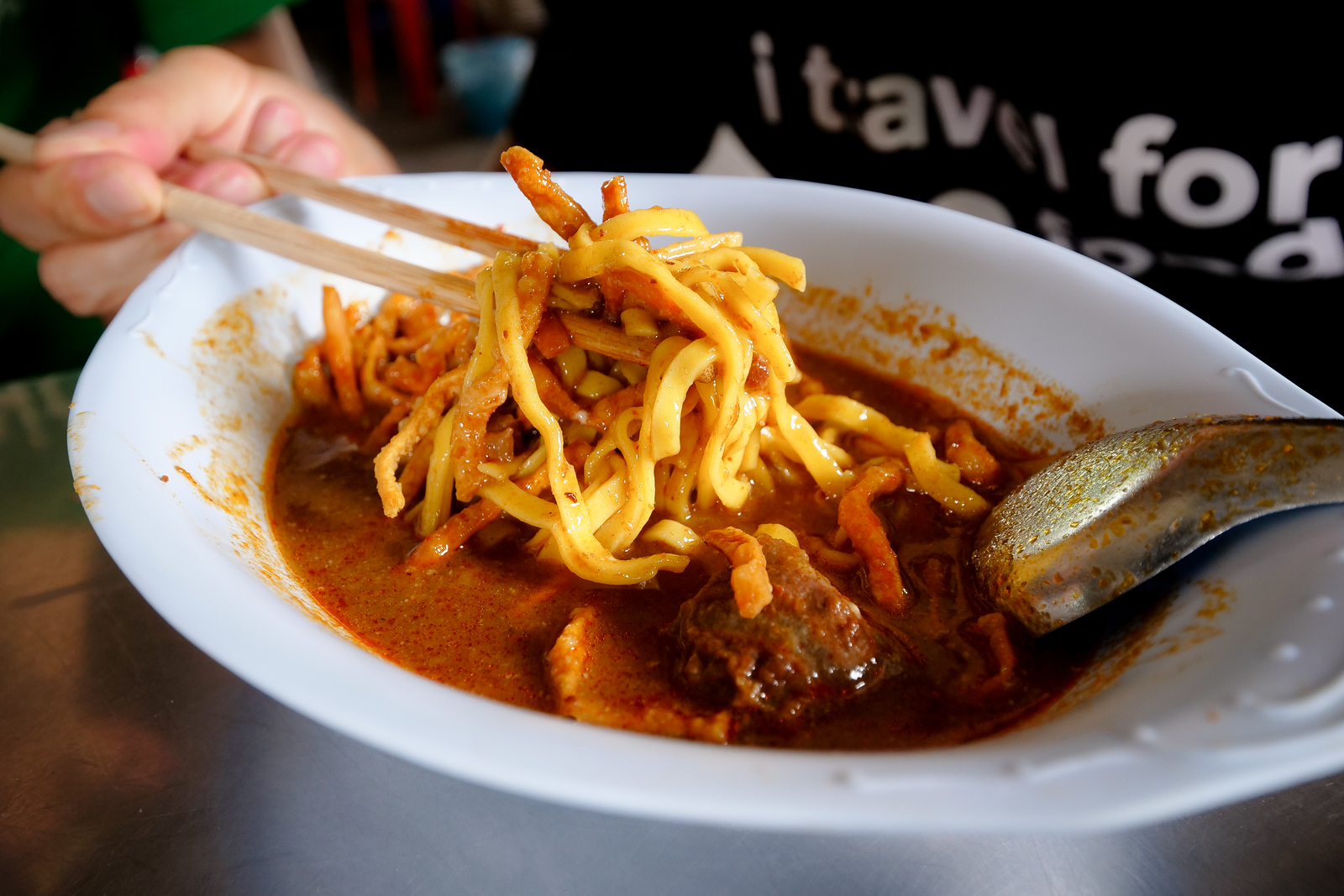 Khao Soi is such a flavorful bowl of noodles