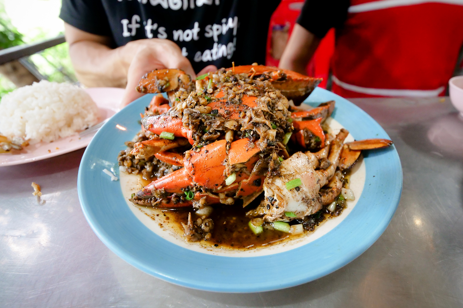 Black Pepper Crab at Lerd Rote