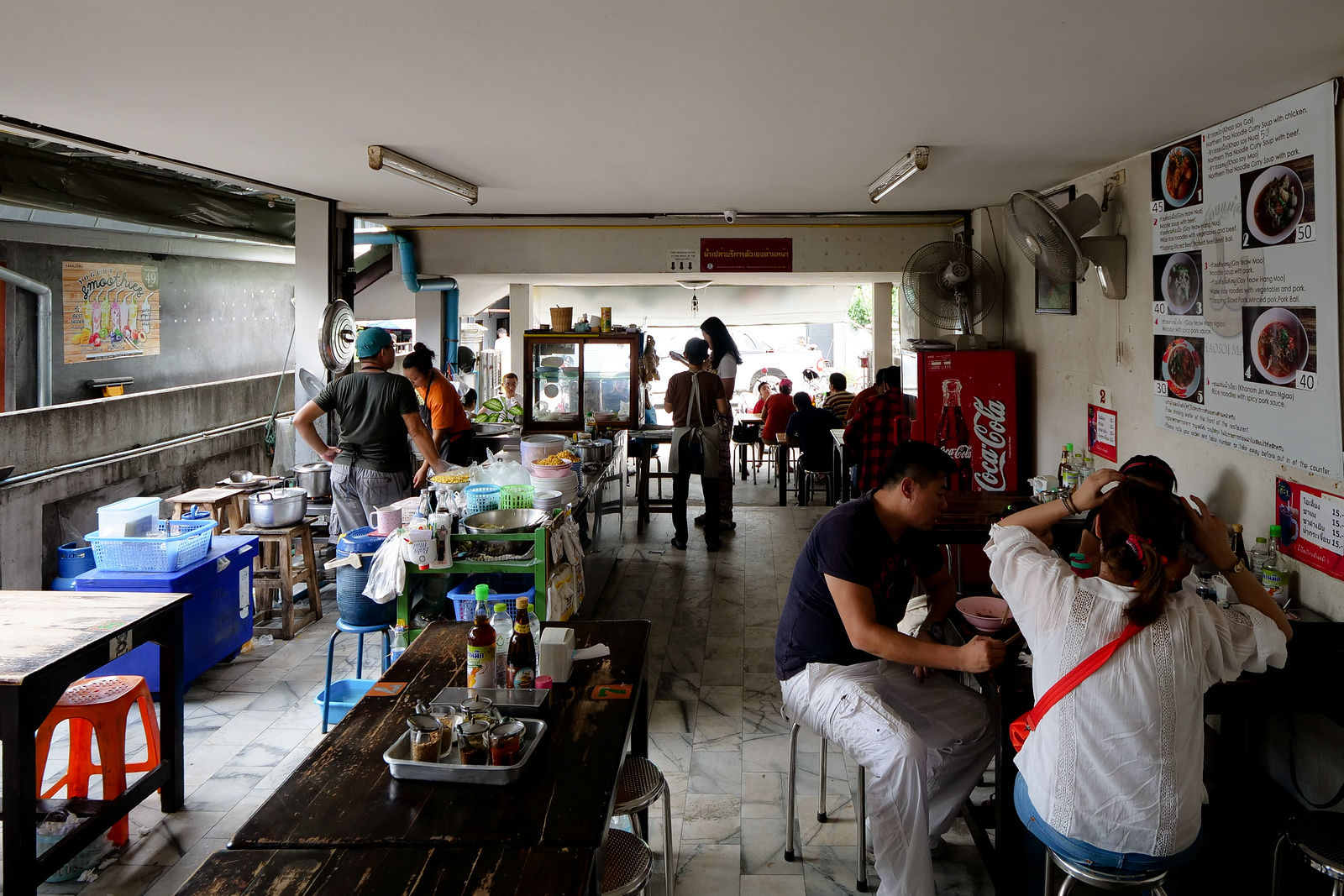 Khao Soi Mae Sai can serve customers from many countries, most of their staff are young, and they have great language skills.