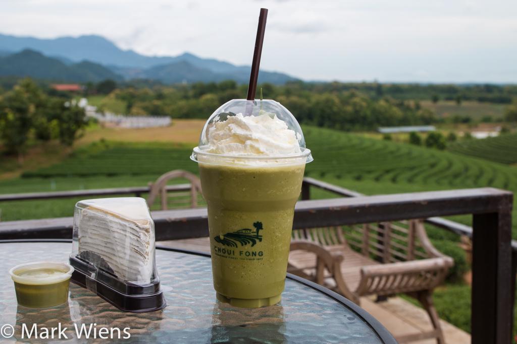 green tea frappaccino