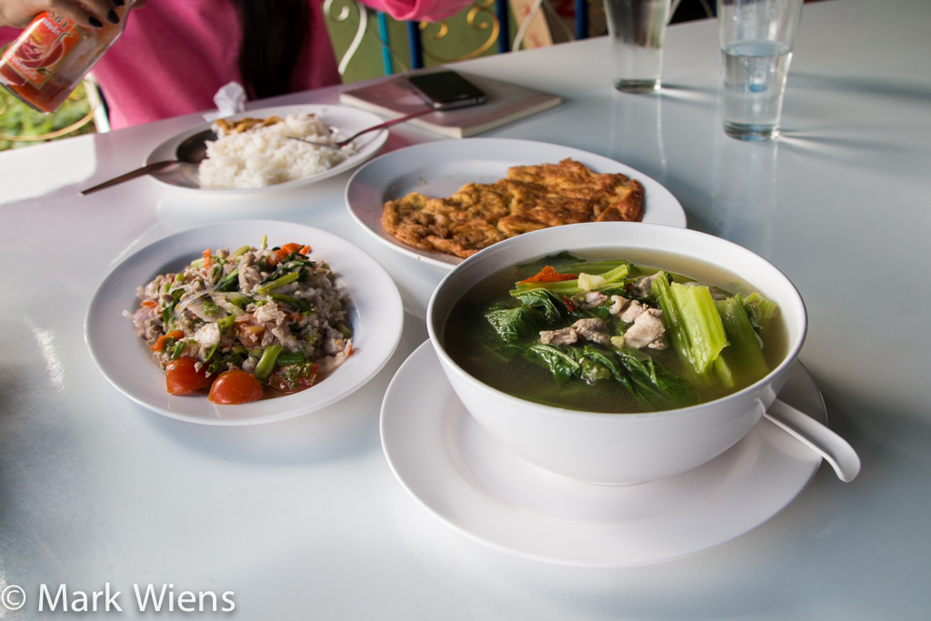 lunch in Thailand