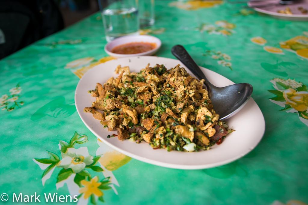 Moo khua Yunnan (หมูคั่วยูนนาน)