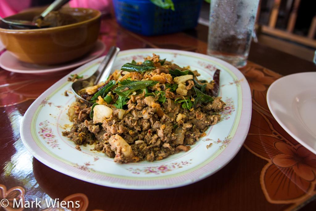 lu lam chiang rai 4 X2 Northern Thai Food at Lu Lam Restaurant (ร้านหลู้ลำ) in Chiang Rai