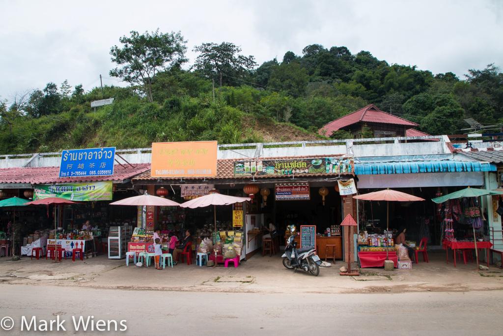 tea in Mae Salong