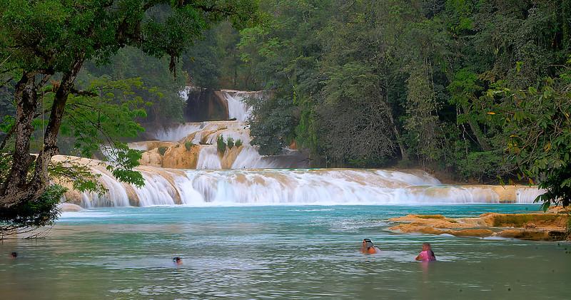 Cascada de Agua Azul