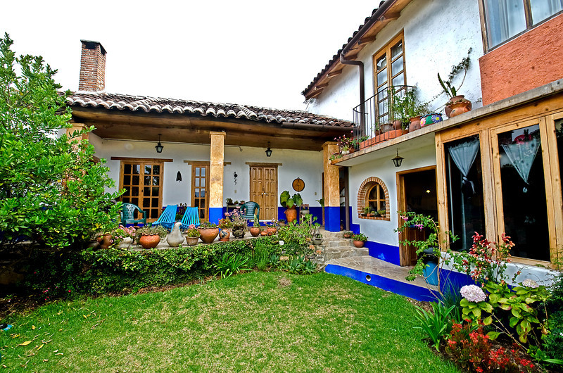 House we rented in San Cristobal