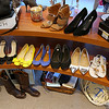 Ashley Lyons, owner of Chic Boutique in Tyngsboro, talked about her store on Monday and how she is trying to market to millennials for there back-to-school consignment shopping. She has many shoes as well as clothes for sale in her shop. SUN/JOHN LOVE
