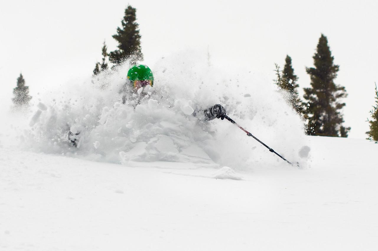 Skier: Alain Morisette, Loccation: Champs de Mars, ChicChoc.