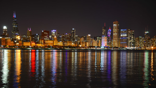 Chicago in mourning.