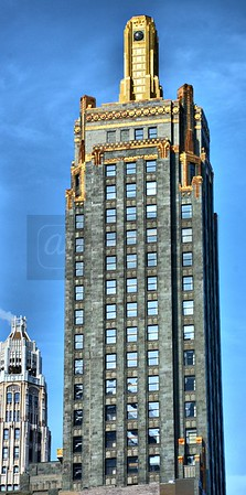 Union Carbide building in Chicago.