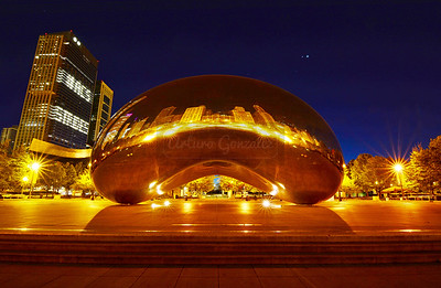 Cloud Gate.