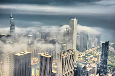 Chicago Cloudscape I