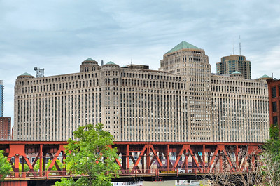 The Merchandise Mart in Chicago.