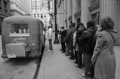 The Doughnut Vault truck in Chicago, Illinois.