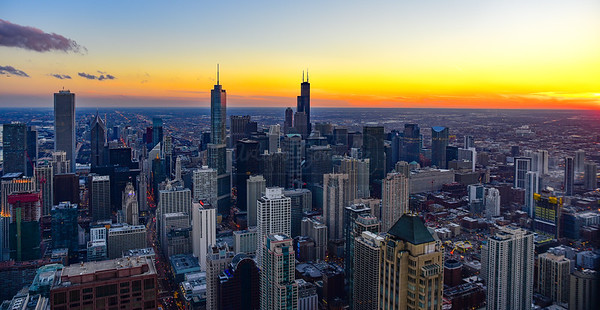 Chicago Sunset February 2017