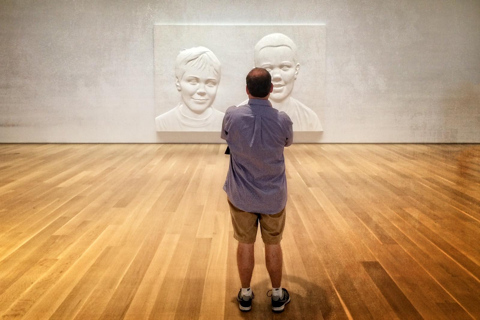 At the Art Institute