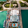 Aerial view of Navy Pier