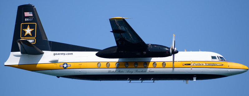 Golden Knights plane at Chicago Air and Water Show