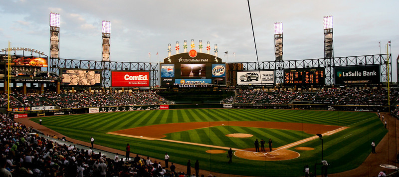 <center><h3>U.S. Cellular Field, Home of the Chicago White Sox</center>