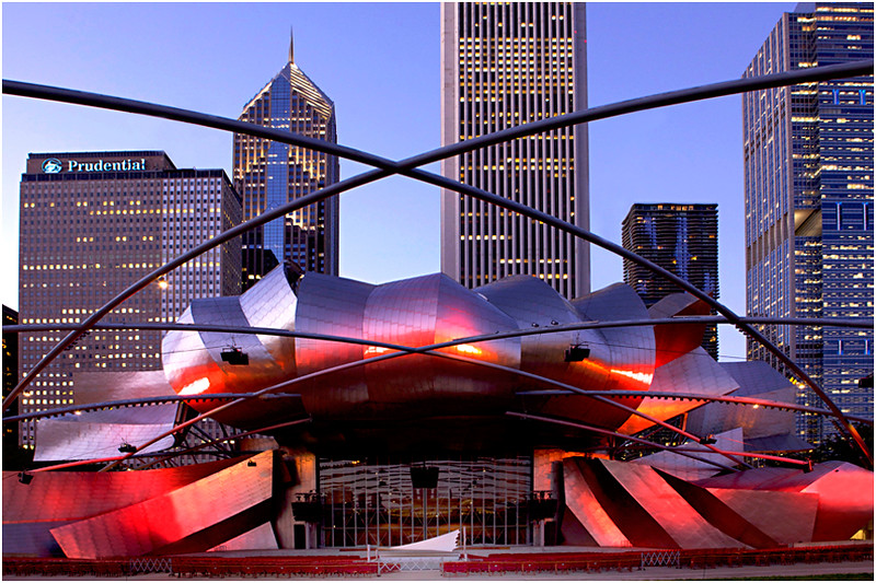 """Print title :  """"  Gehry's Vision """"  /  2015  /  File #  Chi_0186"""