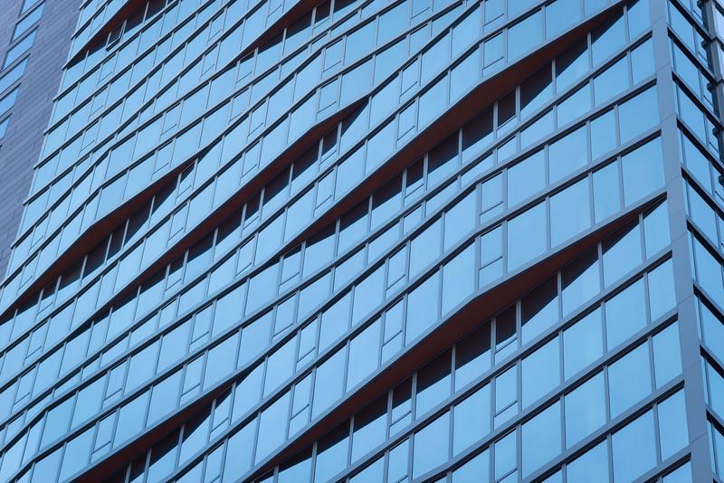 Marquee at Block 37 skyscraper housing architecture texture facade