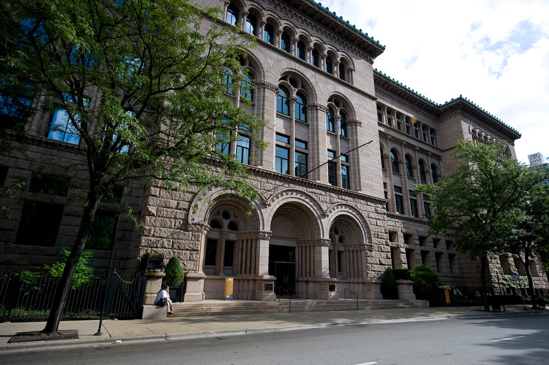 Exterior of Newberry Library