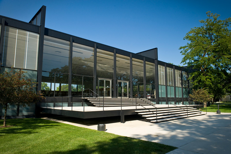 Mies van der Rohe's landmark S.R. Crown Hall at the Illinois Institute of Technology