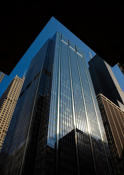 The Deloitte building at 111 S. Wacker.
