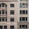 Historic architecture masonry facade Marshall Field Department Store Macy's