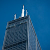 Sears Tower Willis Tower skyscraper and The Ledge skydeck tourism