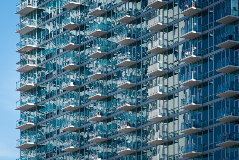 Apartment balconies balcony modern architecture texture