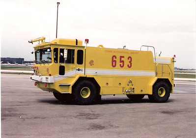 Crash Truck 653  Ohare Airport