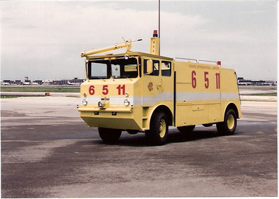 Crash Truck 6 5 11  Ohare Airport