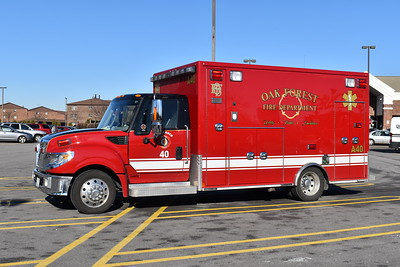 Oak Forest Ambulance 40