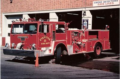 Evanston Engine 23