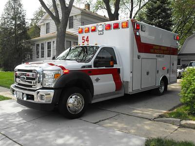 McHenry  Ambulance 54