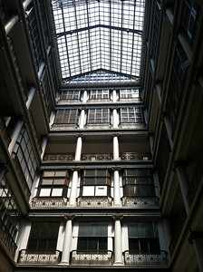 The Beauty of Looking up in the Macy's (Marshall Fields Store)