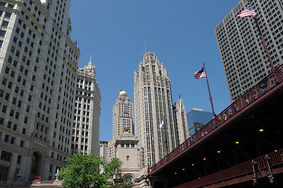 The Gothic Buildings of Chicago... is it the original gotham?