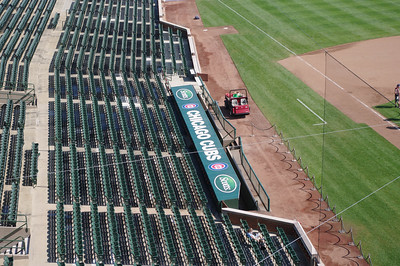 Seats at the Cubs and the Dugout