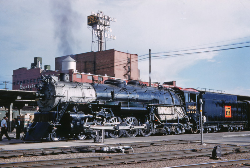 CB&Q 93 - Jun 10 1959 - No 5626 4-8-4 for Chicago - Denver COLO