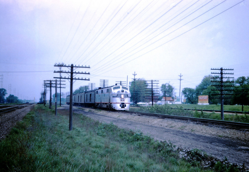 CB@Q 82 - May 4 1958 - No 47 end 9928b north @ Mitchell ILL