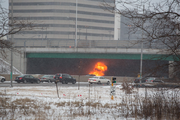 Auto Fire JFK at Cumberland