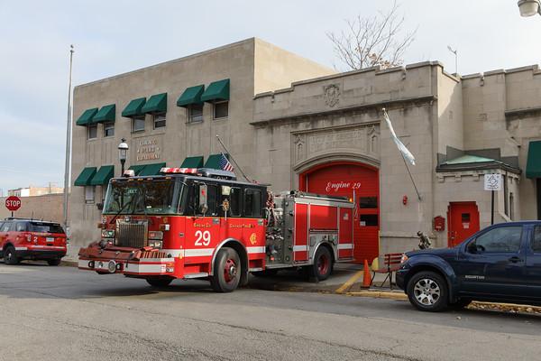 Chicago Engine 29 at quarters