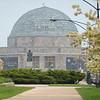 Adler Planetarium museum landmark spring
