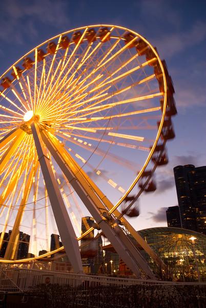 Ferris Wheel at Chicago's Navy Pier