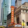 The Chicago Theatre.