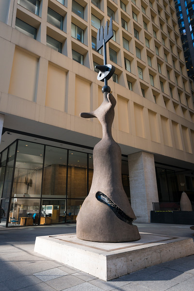 Miro's Chicago sculpture public art modernism